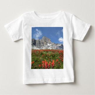 Banner Peak Wildflowers - Ansel Adams Wilderness Baby T-Shirt