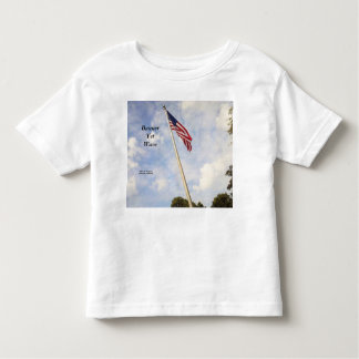 BANNER YET WAVE AMERICAN FLAG TODDLER TSHIRT