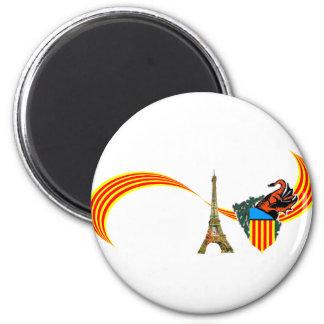 bannerval2 2 inch round magnet