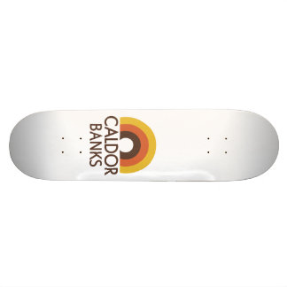 Banques de Caldor Skateboards Cutomisables