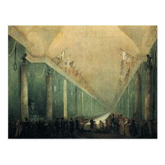 Banquet Given for Napoleon Bonaparte Postcard