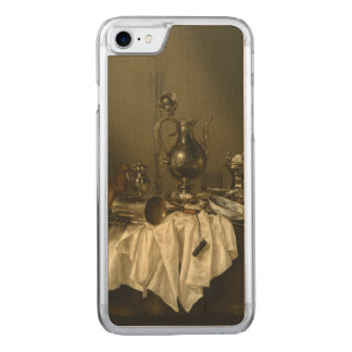 Banquet Piece with Ham by Willem Claesz Heda Carved iPhone 7 Case