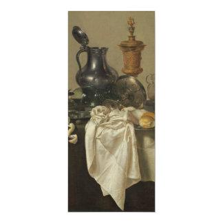 "Banquet Piece with Mince Pie by Willem Claesz Heda 4"" X 9.25"" Invitation Card"