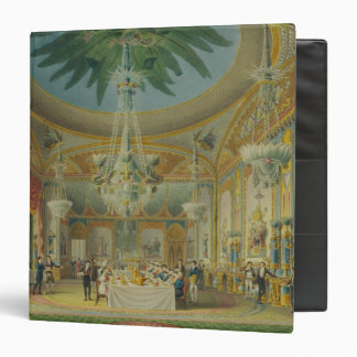 Banqueting Room, from 'Views of Royal Pavilion Binder