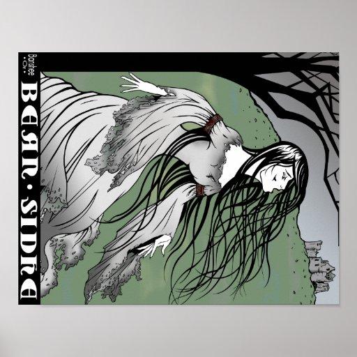Banshee Fantasy Illustration poster