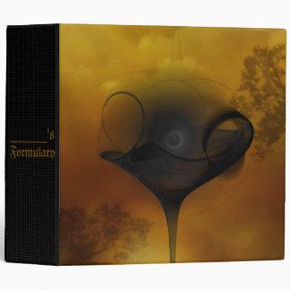 Banshini Faery Martini Art Vinyl Binder