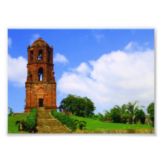Bantay Bell Tower Photographic Print