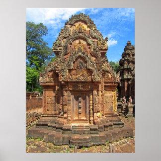 Banteay Srei Temple Chandi Poster