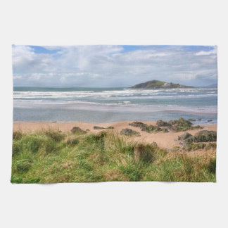 Bantham and Burgh Island View Kitchen Towel