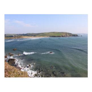 Bantham Beach from Bigbury, Devon Postcard