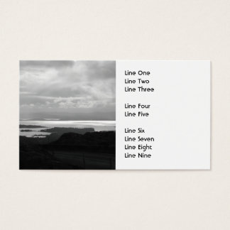 Bantry Bay from Tunnel Road Ireland. Business Card