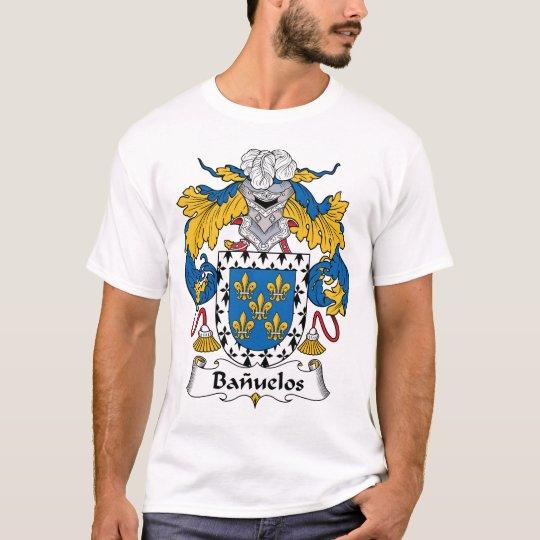Banuelos Family Crest T-Shirt
