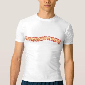 Banyans Hawaiian Hibiscus Band Rash Guard T-shirt
