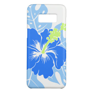 Banzai Beach Hawaiian Blue Hibiscus Case-Mate Samsung Galaxy S8 Case