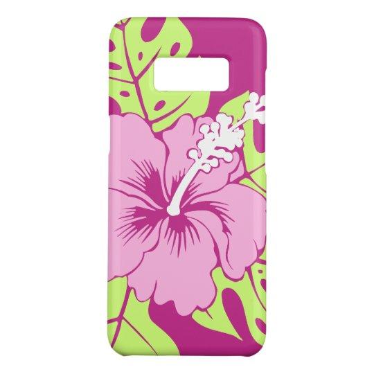 Banzai Beach Hawaiian Pink Hibiscus Case-Mate Samsung Galaxy S8 Case