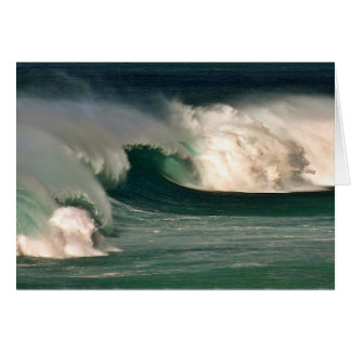 Banzai Pipeline Waves 2 Note Card