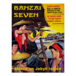 Banzai Seven - Attack on Jekyll Island Poster