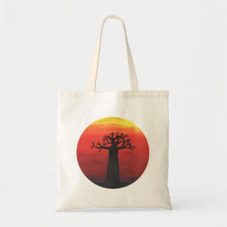 Baobab Sunset Tote Bag