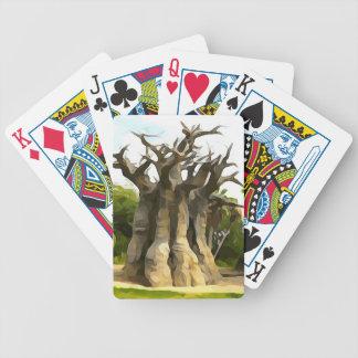 Baobub Tree Bicycle Playing Cards