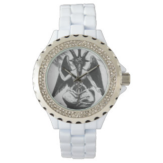 Baphomet Black/White (Old Style) Watch