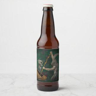 Baphomet (Blank) Beer Bottle Label