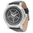 Baphomet Church of Satan Elegant Watch