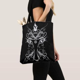 Baphomet Occult Art Goth Tote Bag