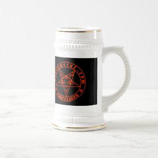 Baphomet Red Beer Stein