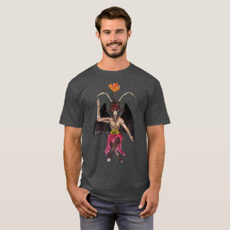 Baphomet Satanist watercolour Shirt