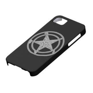 Baphomet Shadow Black iPhone 5 Cases