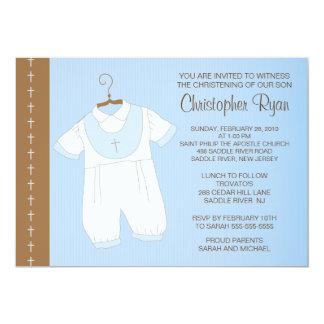 Baptême de bébé/baptême Inviation Invitations Personnalisables
