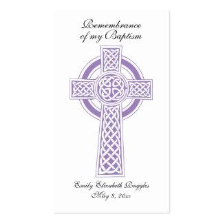 Baptism / Christianing Prayer Card Business Card