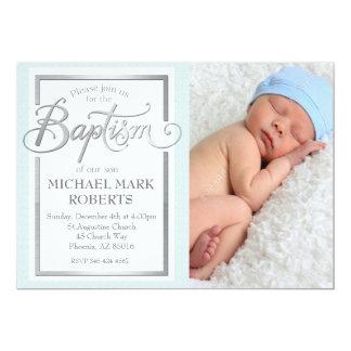 Baptism Invitation, Baptism Invite, Baptize Card
