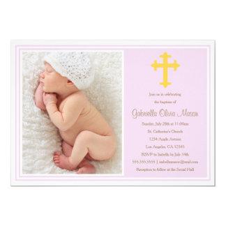 Baptism - Lavender | Invitation