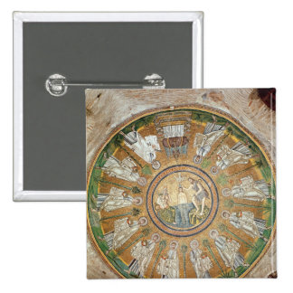 Baptism of Christ 2 2 Inch Square Button