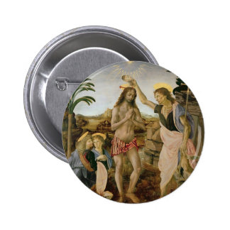 Baptism of Christ 2 Inch Round Button