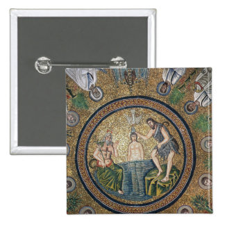 Baptism of Christ 2 Inch Square Button