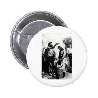 Baptism of Christ circa 1879 Pinback Buttons