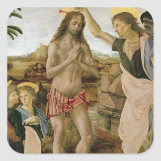 Baptism of Christ Square Sticker