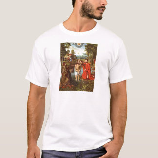 Baptism of Jesus painted by Masters T-Shirt