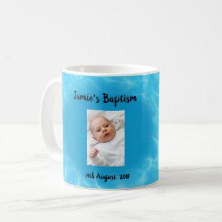 Baptism photo coffee mug