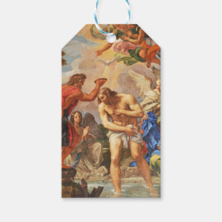 Baptism scene in San Pietro basilica, Vatican Gift Tags