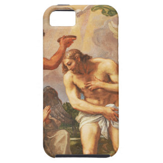 Baptism scene in San Pietro basilica, Vatican iPhone 5 Cover