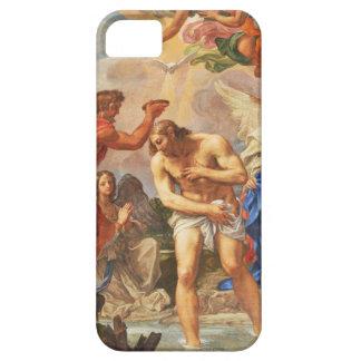 Baptism scene in San Pietro basilica, Vatican iPhone 5 Covers