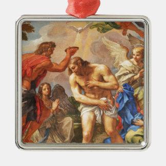 Baptism scene in San Pietro basilica, Vatican Metal Ornament