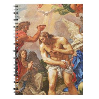 Baptism scene in San Pietro basilica, Vatican Notebooks