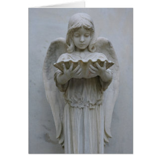 Baptismal Angel card (front view)