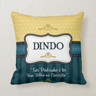 Baptized cushion Dindo 01