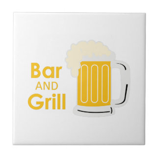 BAR AND GRILL TILE
