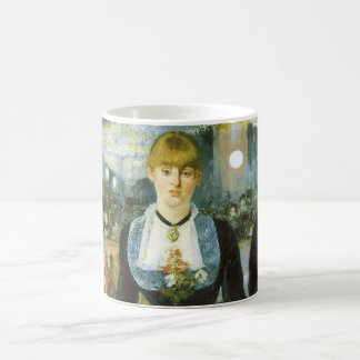 Bar at the Folies Bergere by Manet, Vintage Art Coffee Mug